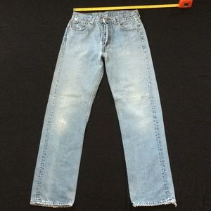 Vintage 80-90's Levi 501 jeans, lovely fade